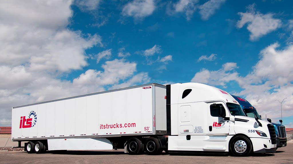 international transportation services semi trailer truck