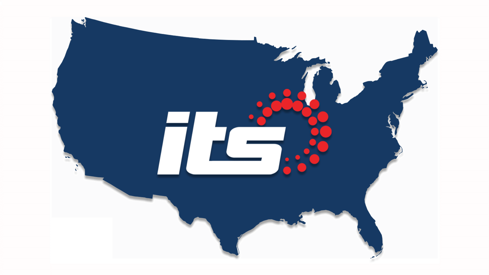map of international transportation services, inc. service areas