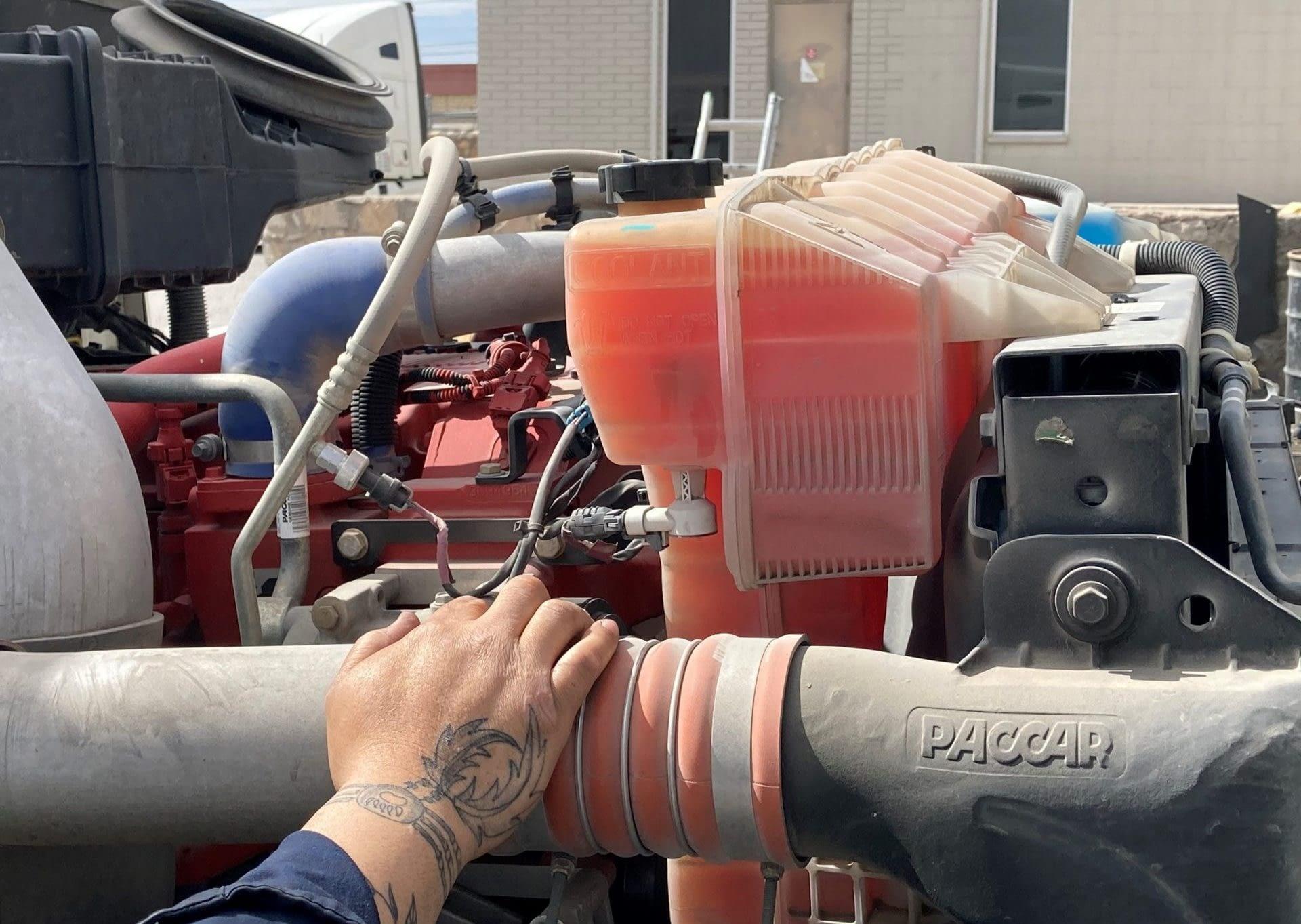 Truck coolant