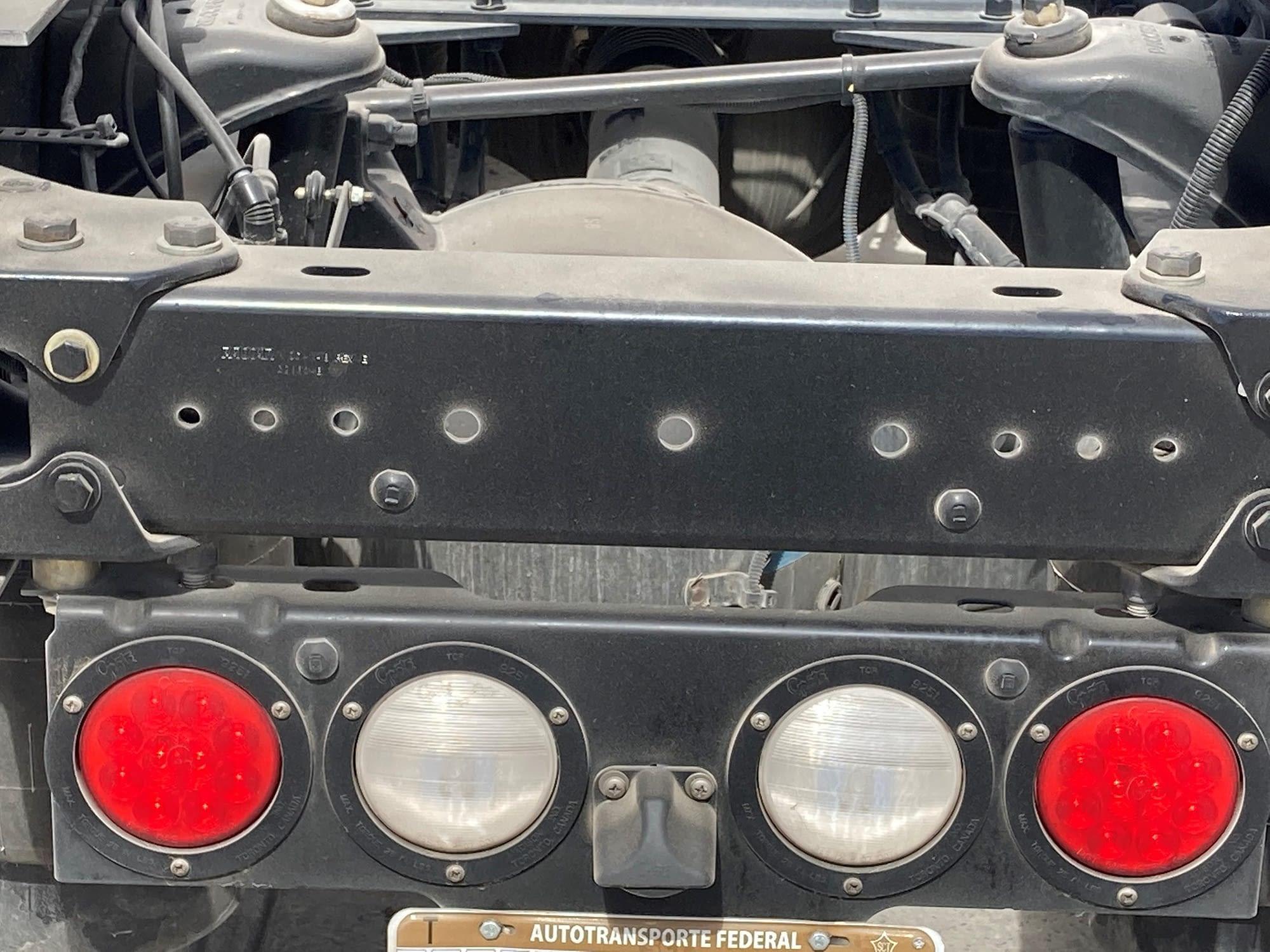 truck rear lights